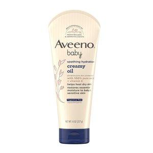 Aveeno 嬰兒舒緩保濕乳霜油 227g (含100%純燕麥油+維生素E )