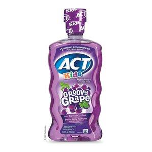 ACT ACT - 無酒精兒童漱口水 500ml (葡萄口味)