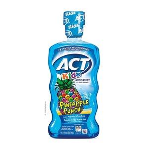 ACT 無酒精兒童漱口水 500ml (菠蘿口味)