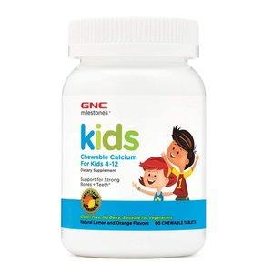 GNC 兒童鈣咀嚼片60片 (兒童4-12歲)