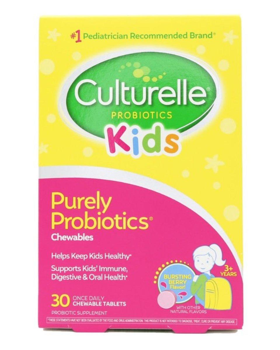 Kids Chewables Daily Probiotic Formula - 30Tablets