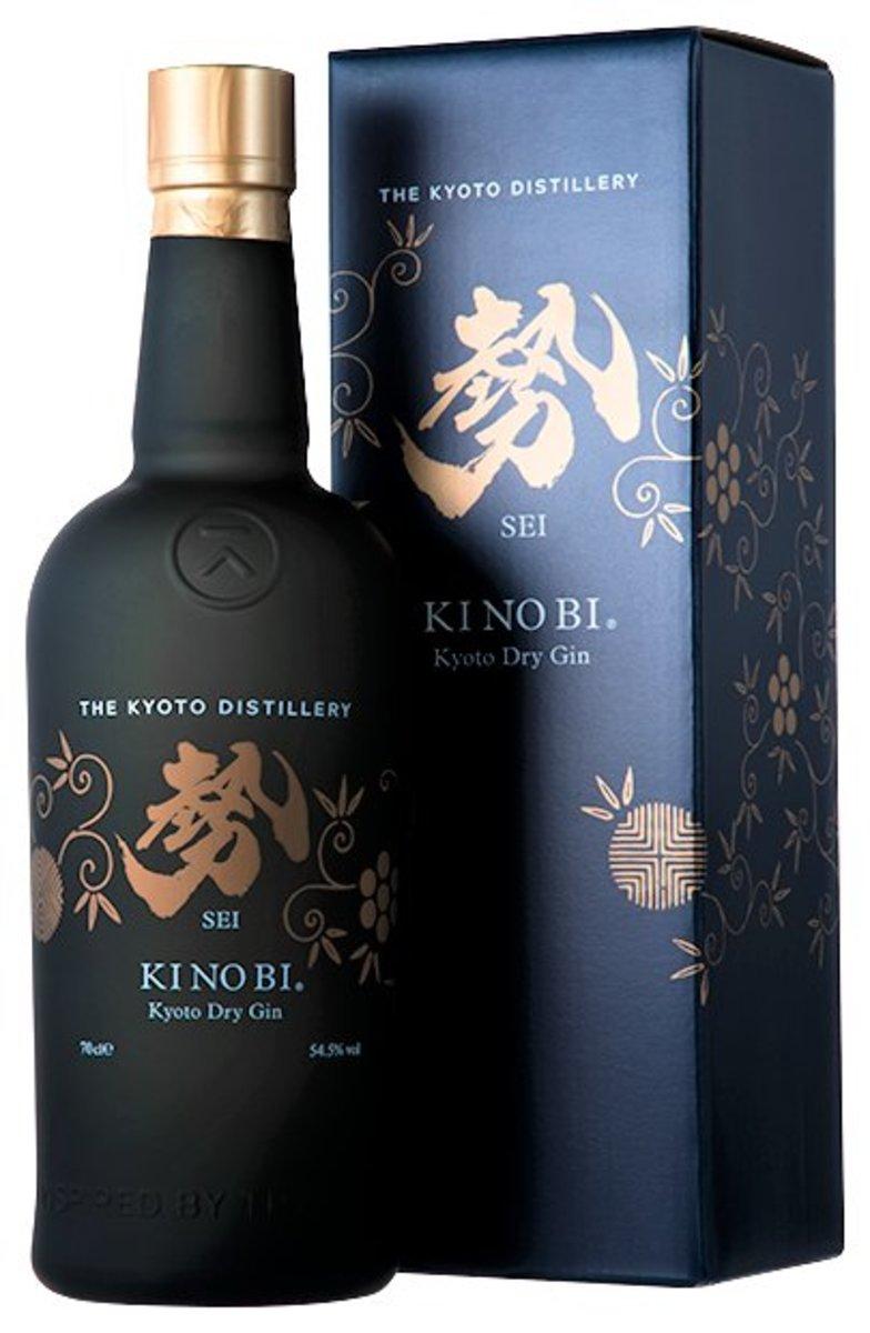 """KI NO BI """"SEI"""" Kyoto Dry Gin"""