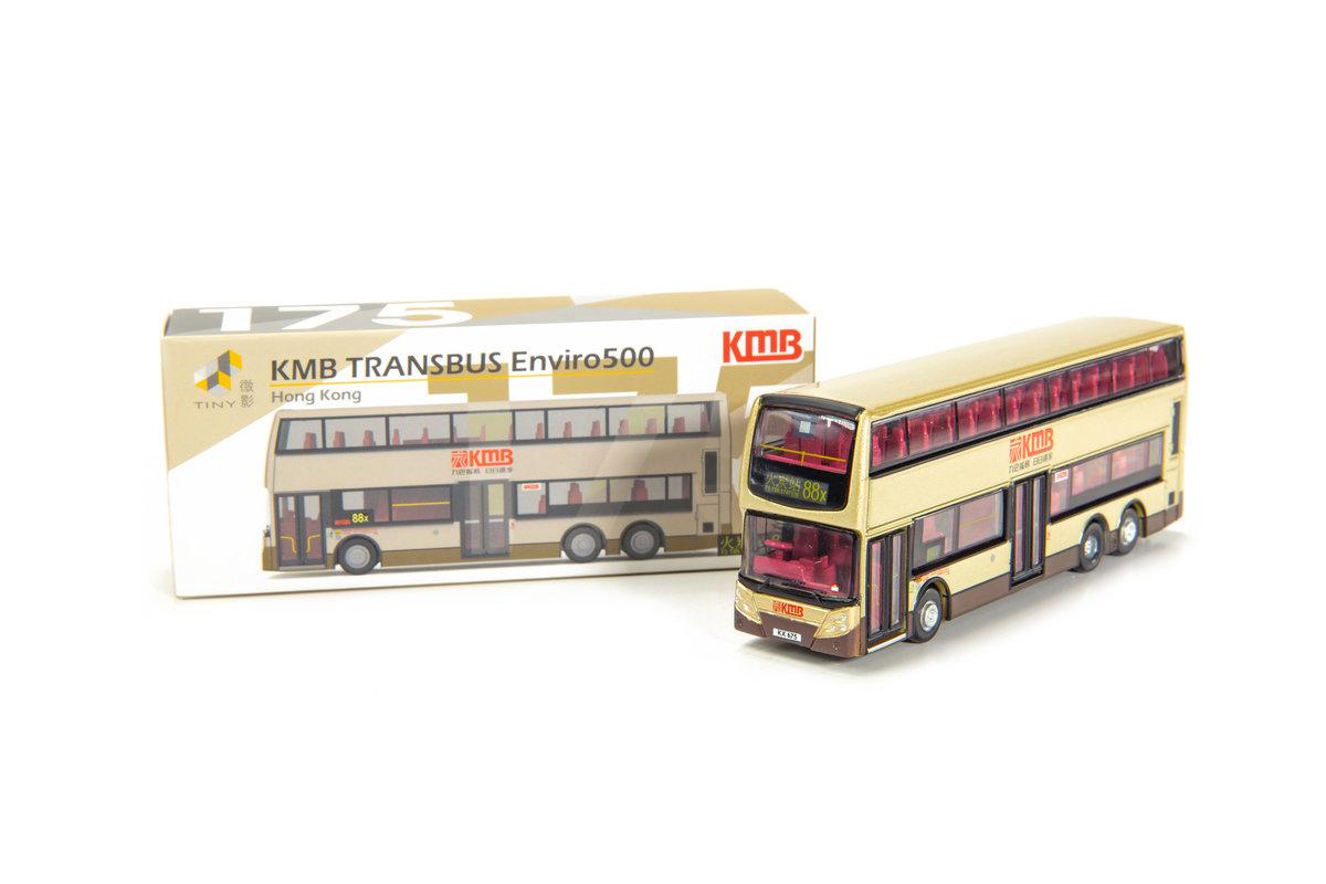 Tiny City 175 Die-cast Model Car – KMB TransBus Enviro500 (88x)
