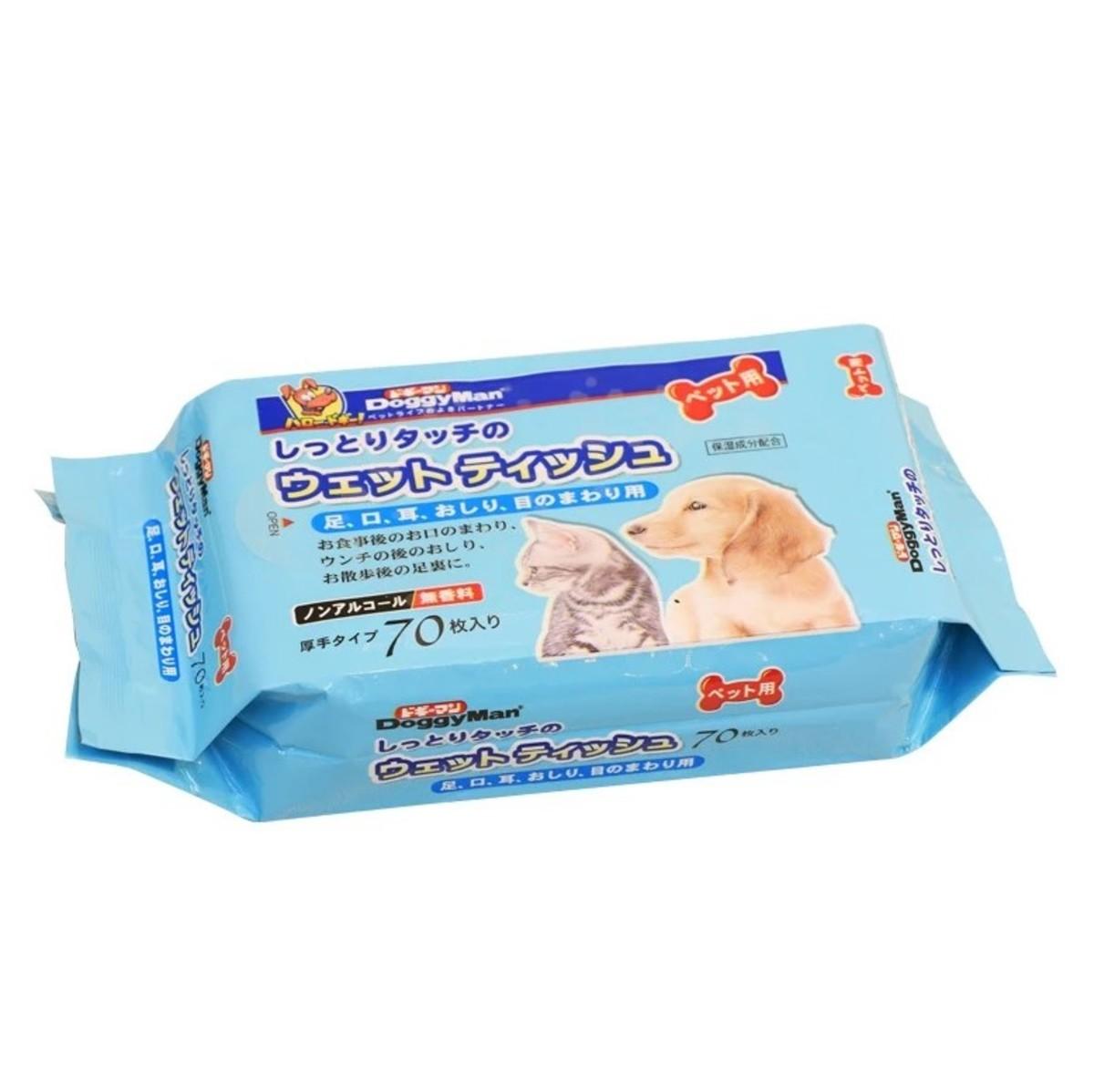 寵物專用濕紙巾70片
