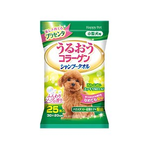 Earth Pet 小型犬乾洗用清潔濕紙巾 25片