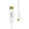 V400A 1.8M, Type-C to DisplayPort Cable