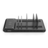 Y-2192 96W 8-Port USB Smart Charging Station+Wireless Fast Charger