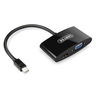 Y-6328BK Mini DisplayPort to VGA + HDMI 轉換器