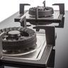 LJ-8998 石油氣嵌入式雙頭煮食爐-黑