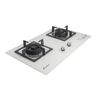 LJ-8998 LPG embedded double-head cooking stove-white