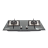 LJ-8998 LPG embedded double-head cooking stove-green