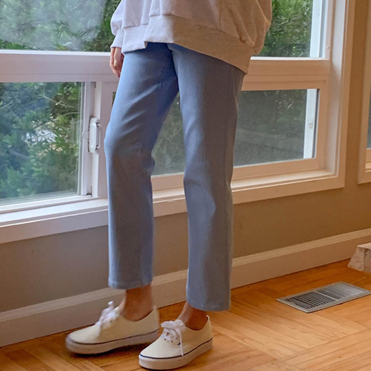Colored Cotton Pants