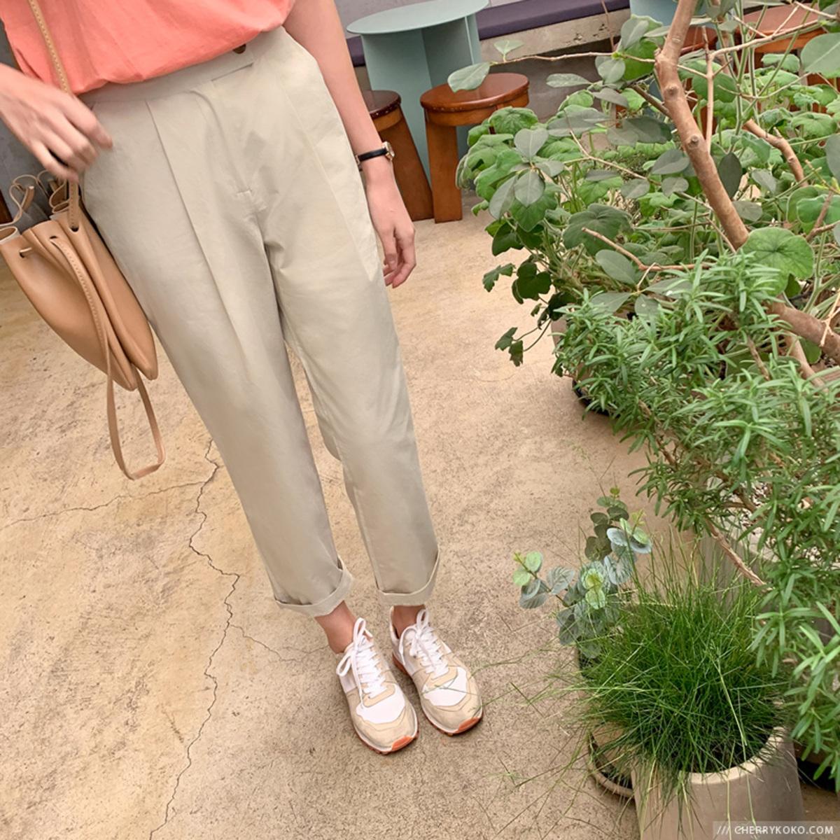 Pastel Cotton Pants