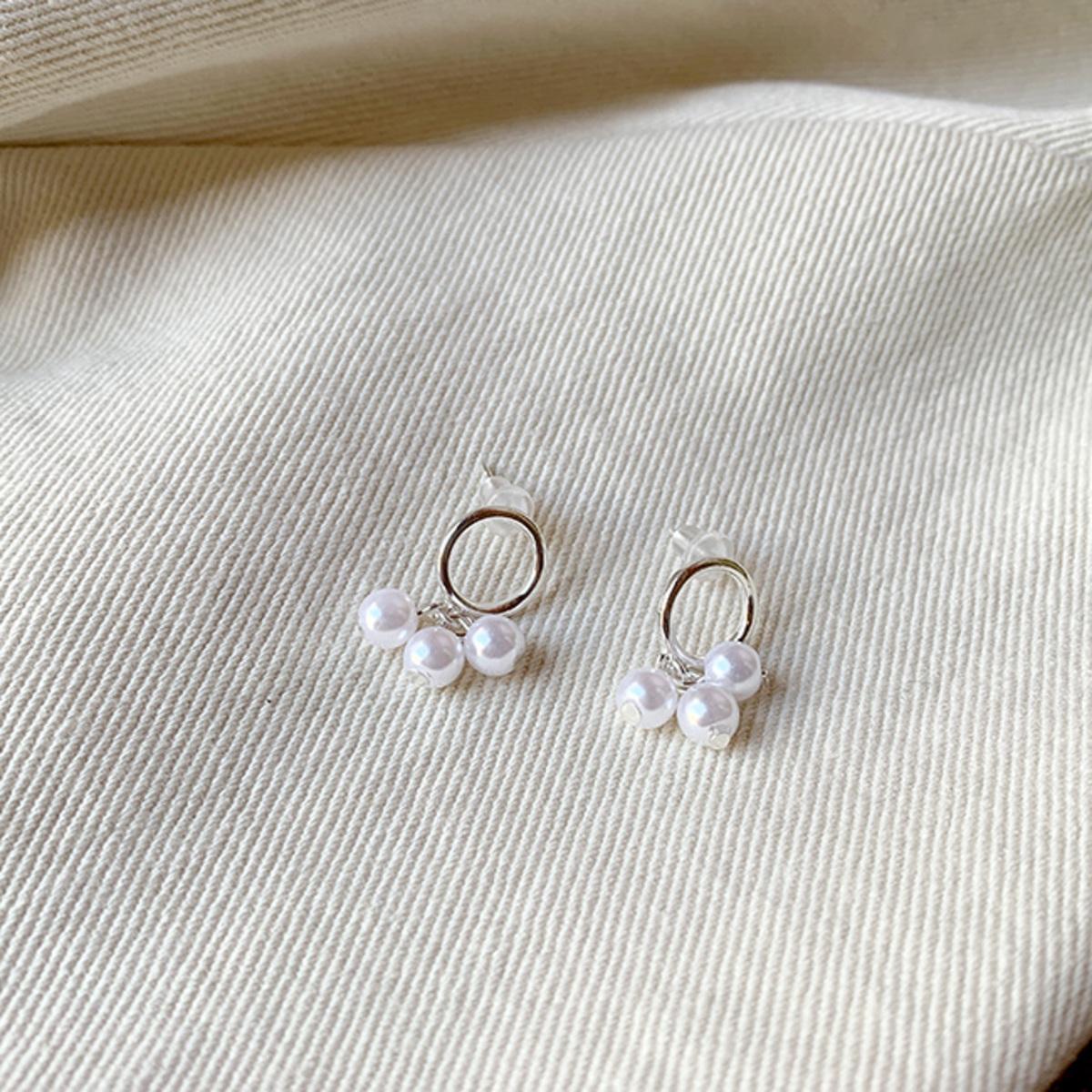 Mini Pearl Earrings