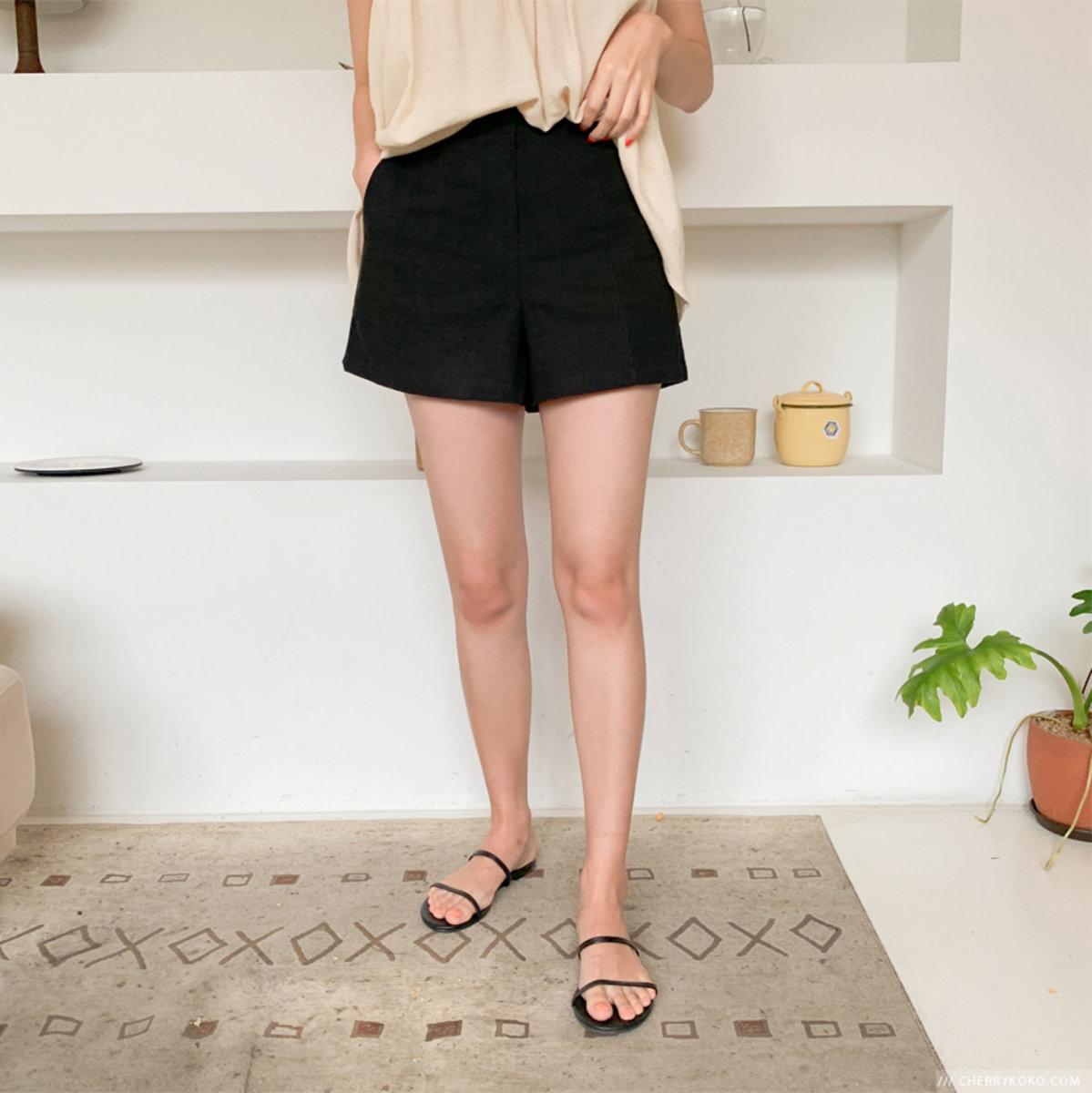 純色簡約短褲
