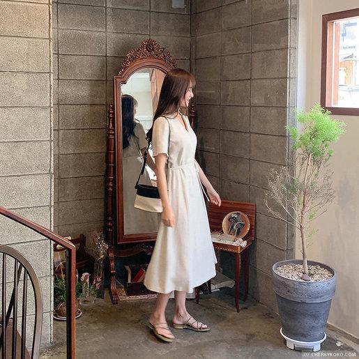 Lovely Linen Dress