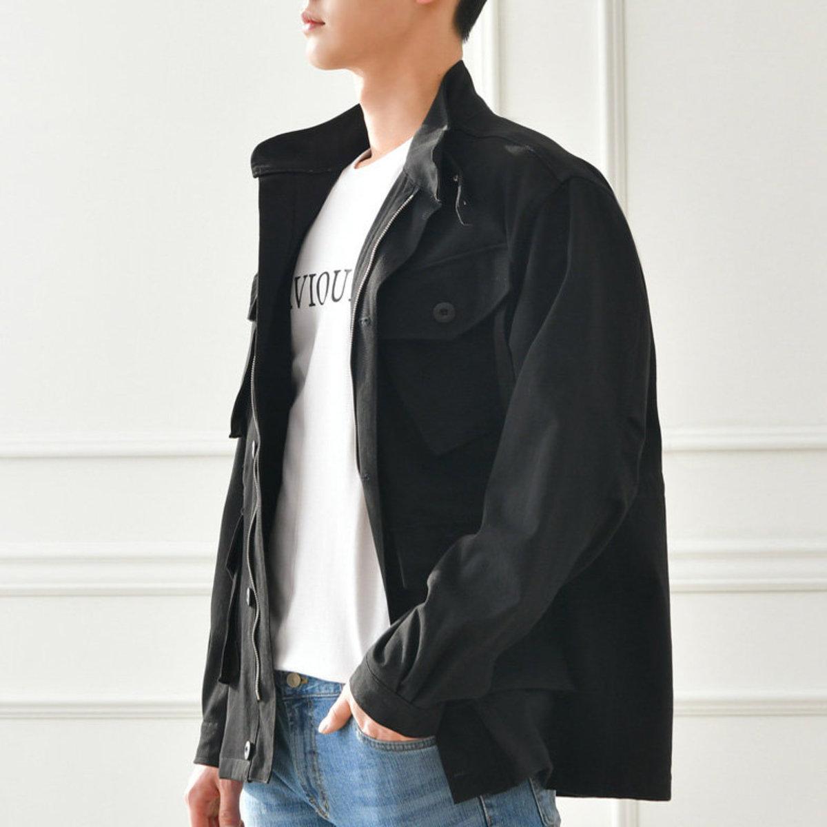 Pocket Wash Night Jacket[CC27542]