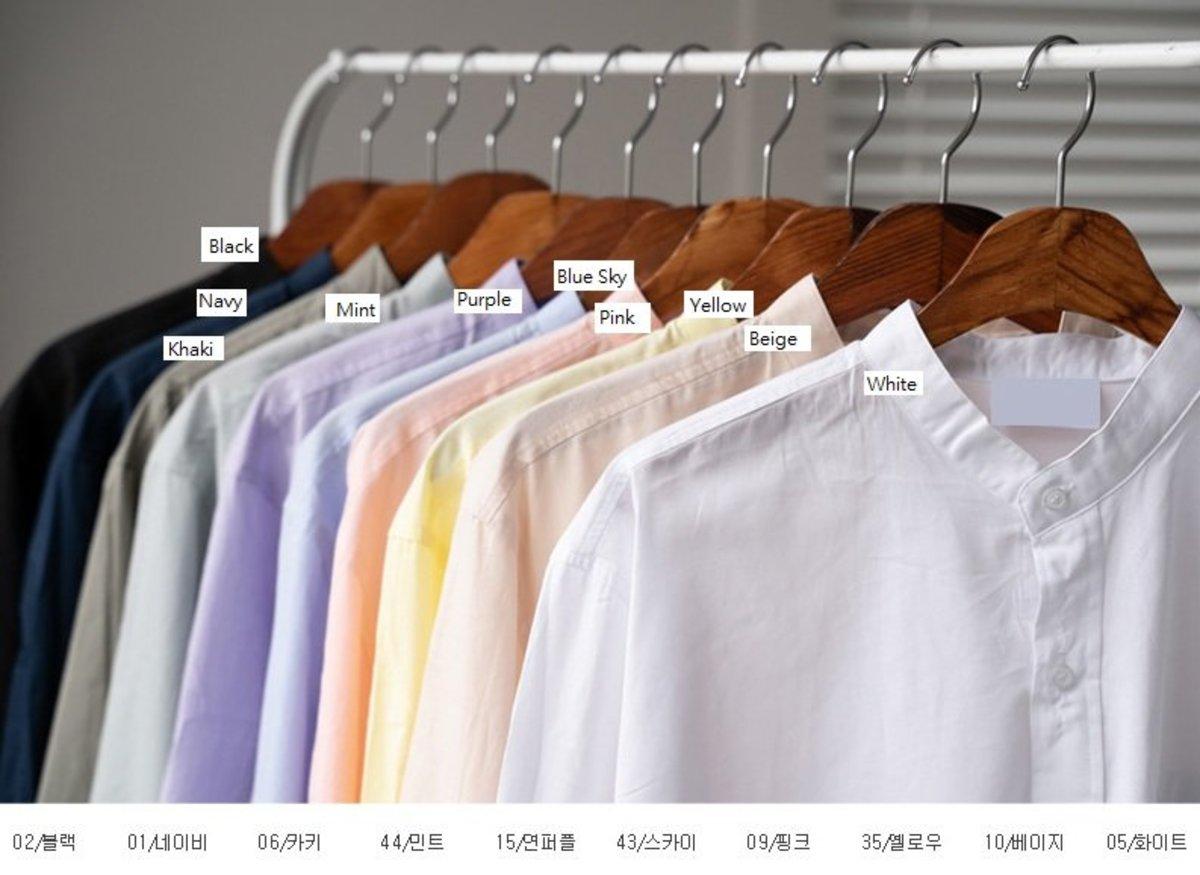 10-Color Rinko China Shirt[CE19724]