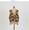 V-Neck Leopard Pattern Vest