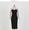 拼色樽領連身裙