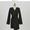 Twist Detail Notched Collar Dress