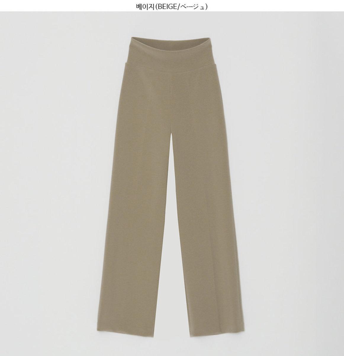 Elastic Waist Wide-Leg Pull-On Pants