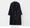 單襟寬鬆長外套