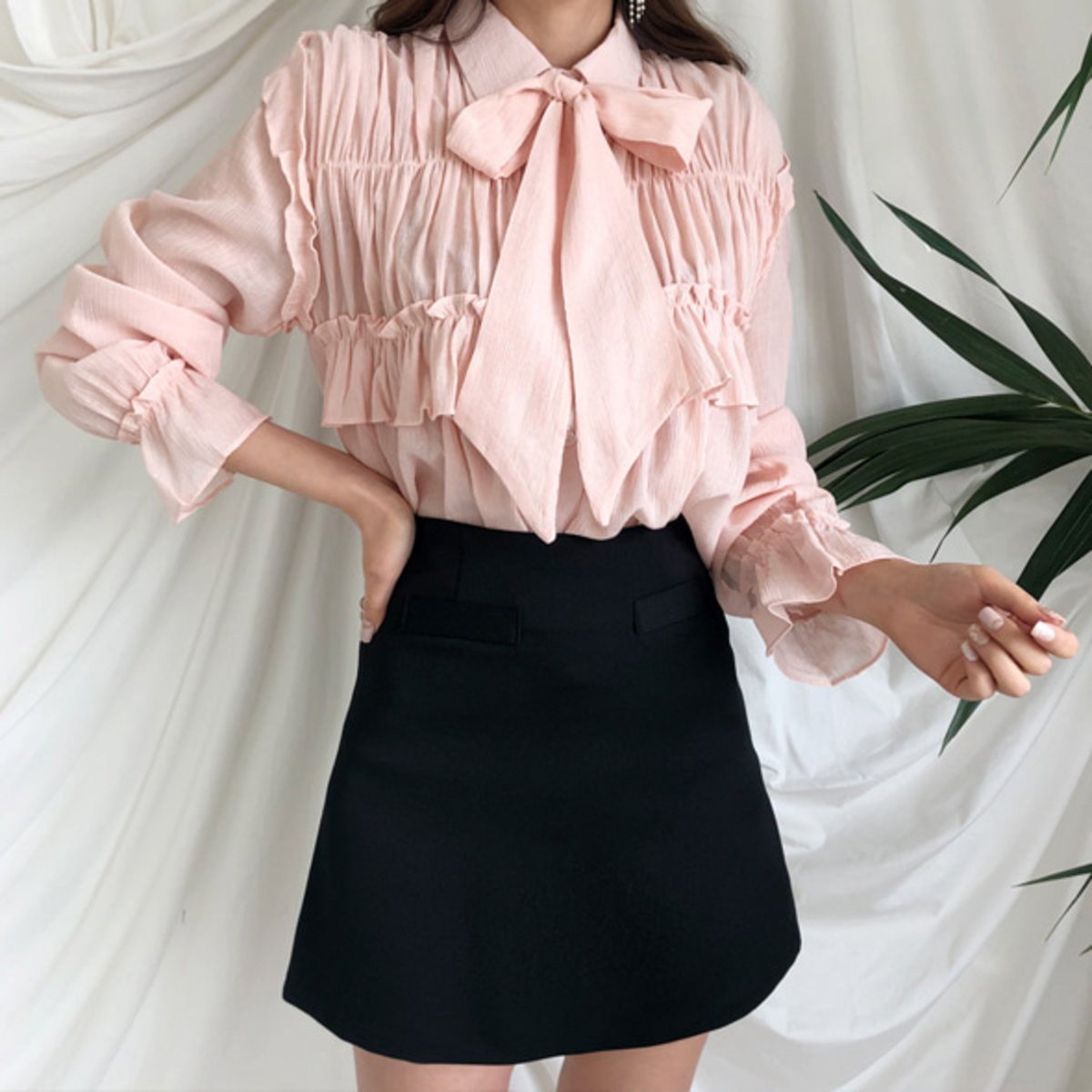 Spring Frill Blouse
