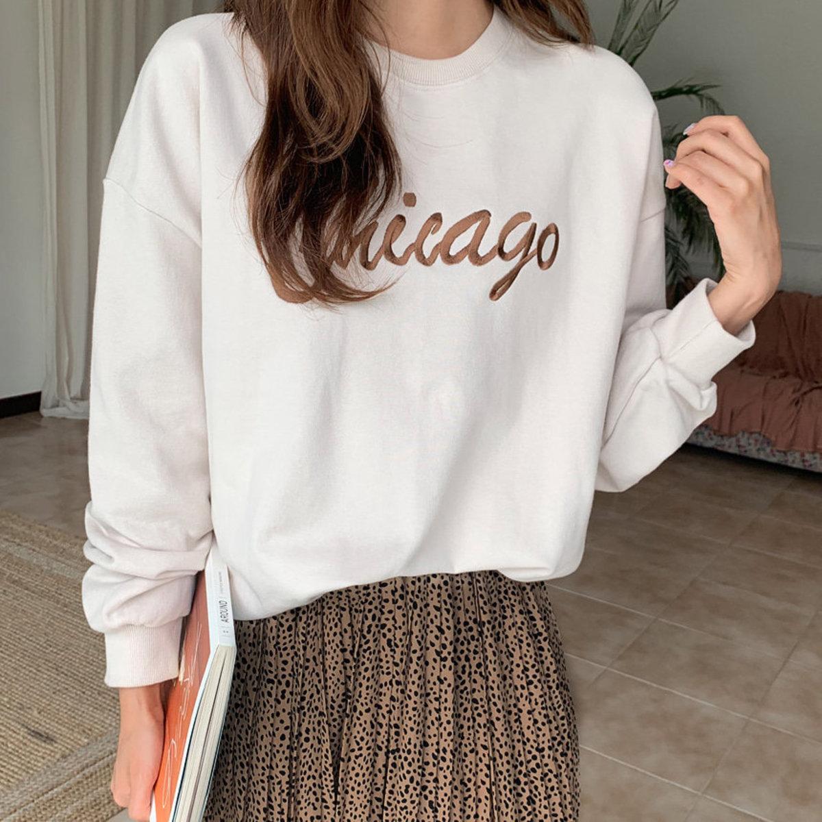 Chicago Embroidery Sweatshirt