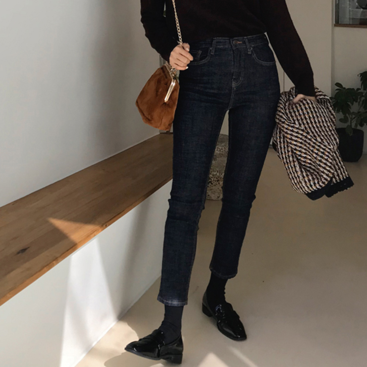 Mois Skinny Denim Pants