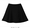 Blister Flare Mini Skirt