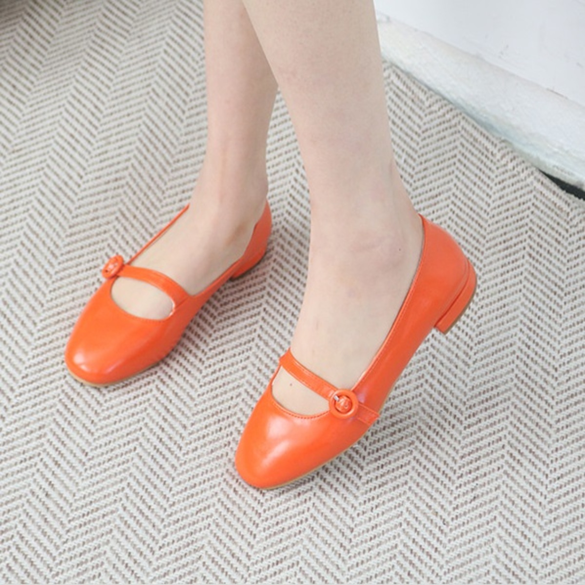 Mary Jane Flat Shoes
