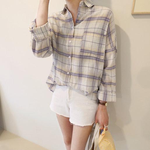 Front Check Shirt