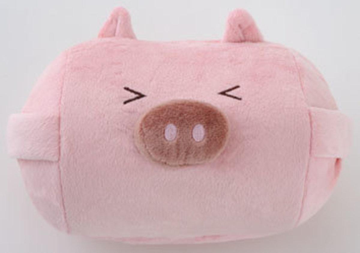 豬形彈力球