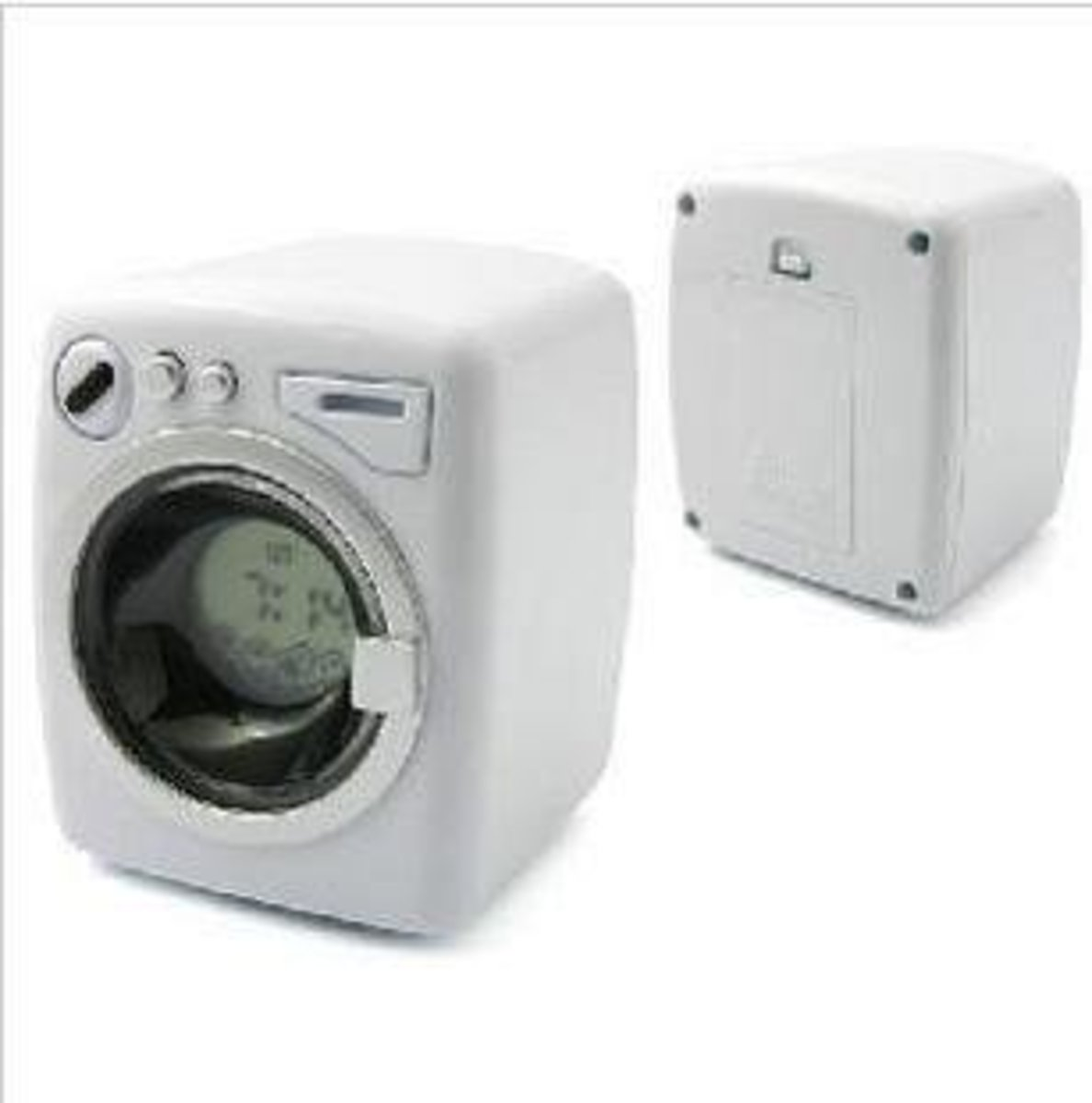 Washing Machine Alarm Clock-White