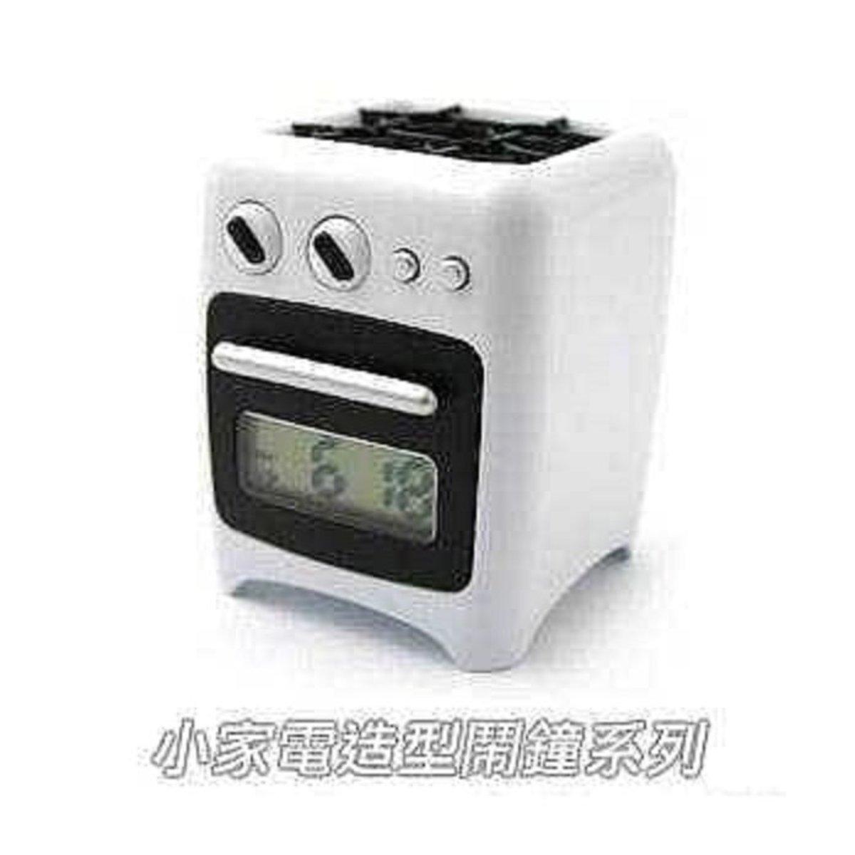Oven Alarm Clock-White