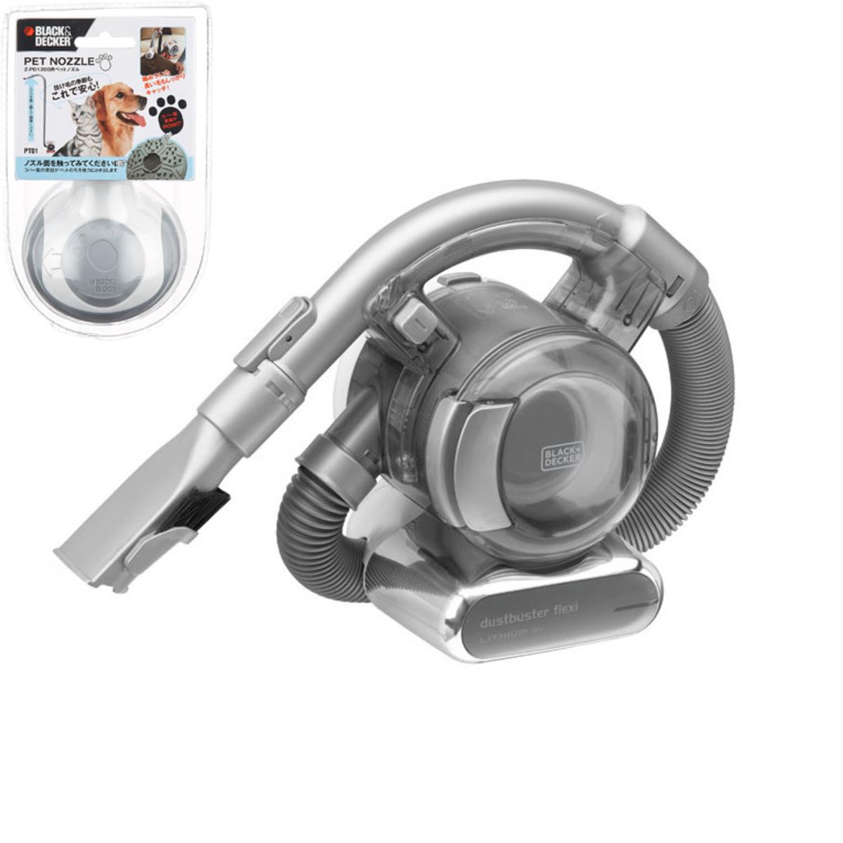 18V小蝸牛無線鋰電吸塵機連寵物毛髮專用吸頭套裝