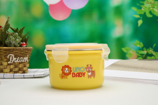 Lunch Box (Round) with Lid - 460ml