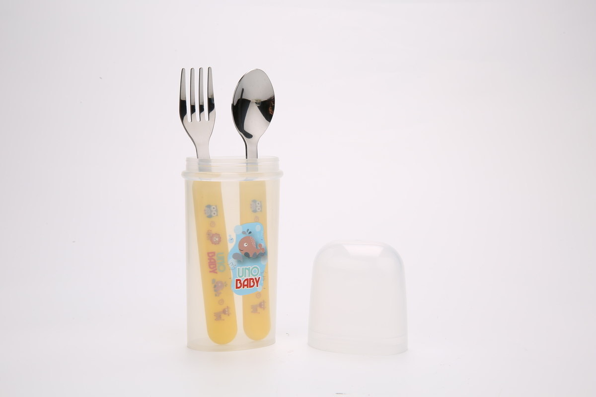 Stainless Steel Meal Set with Case