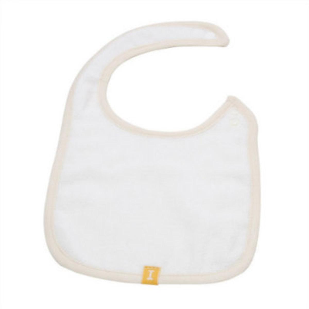 Organic Baby 120 Baby Bib - Ivory