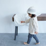 Organic Baby 120 Baby Blanket - Ivory