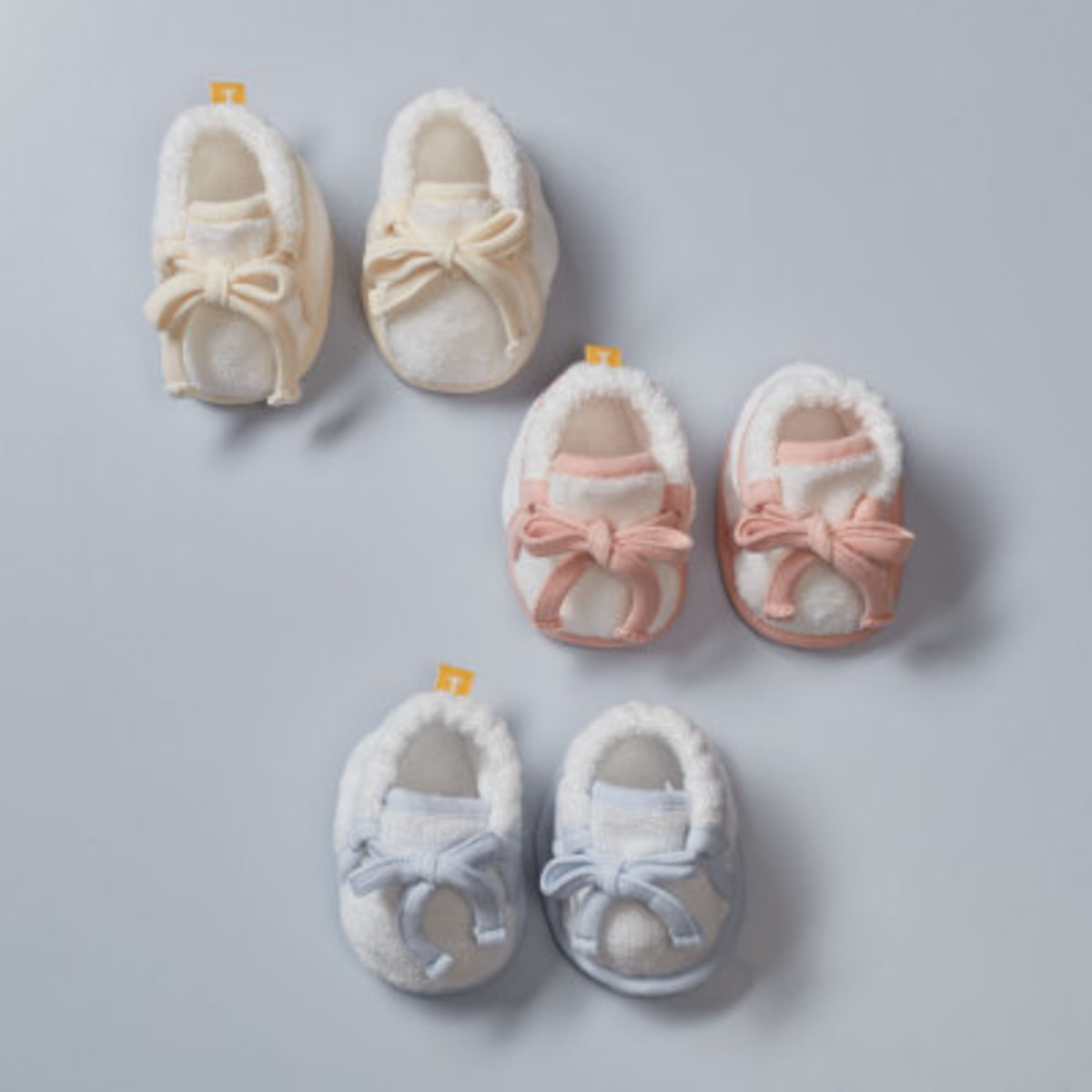 Organic Baby 120 Baby Shoes - Ivory