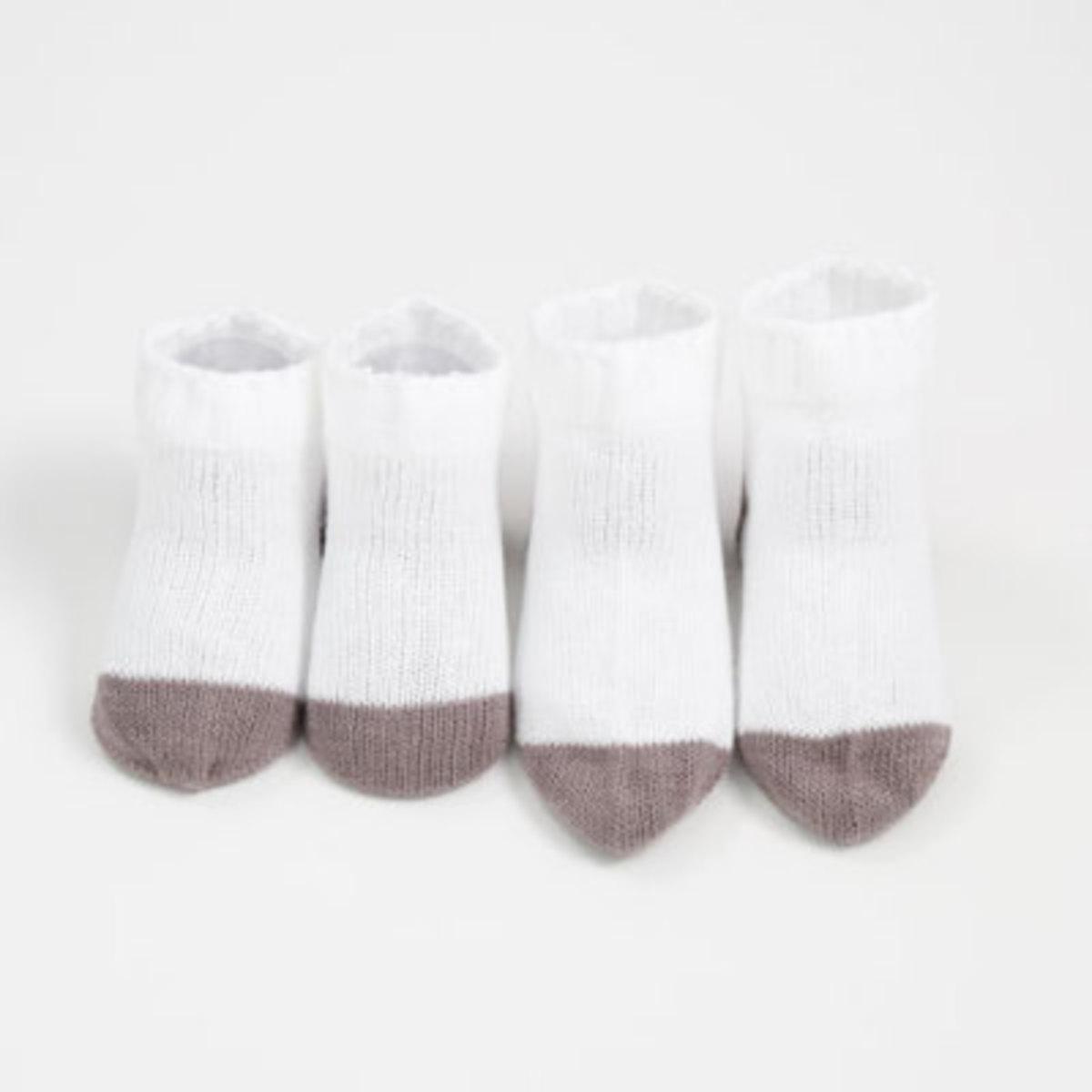 有機棉嬰兒襪 (KB-1) 7-8cm