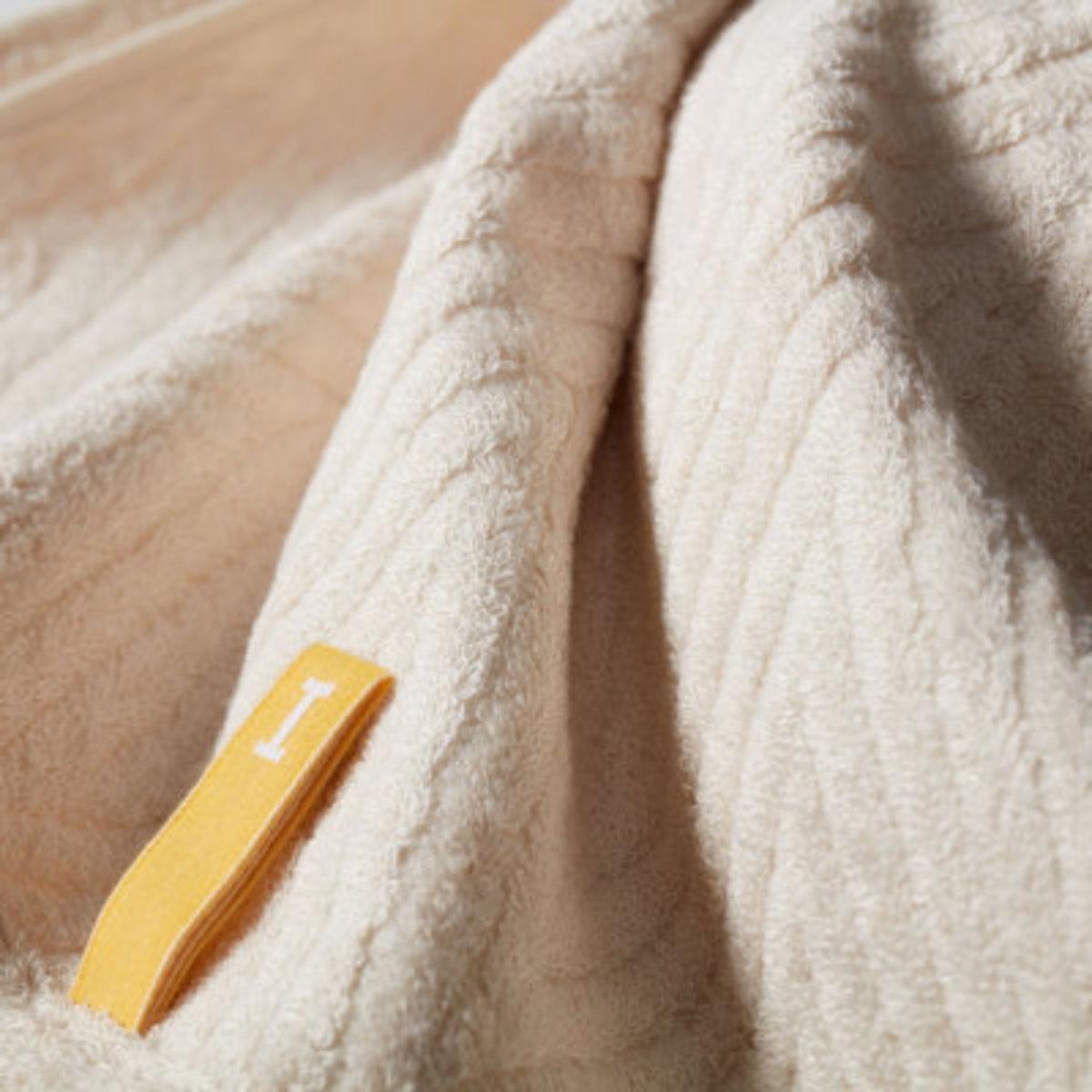Bamboo 120 全日本製今治認證有機棉浴巾-Beige