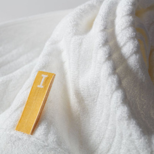 Bamboo 120 Imabari Towel Japan Face Towel -White