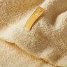 Organic 520 Face Towel -Yellow Japanese Organic Towel Imabari Towel Japan Certified