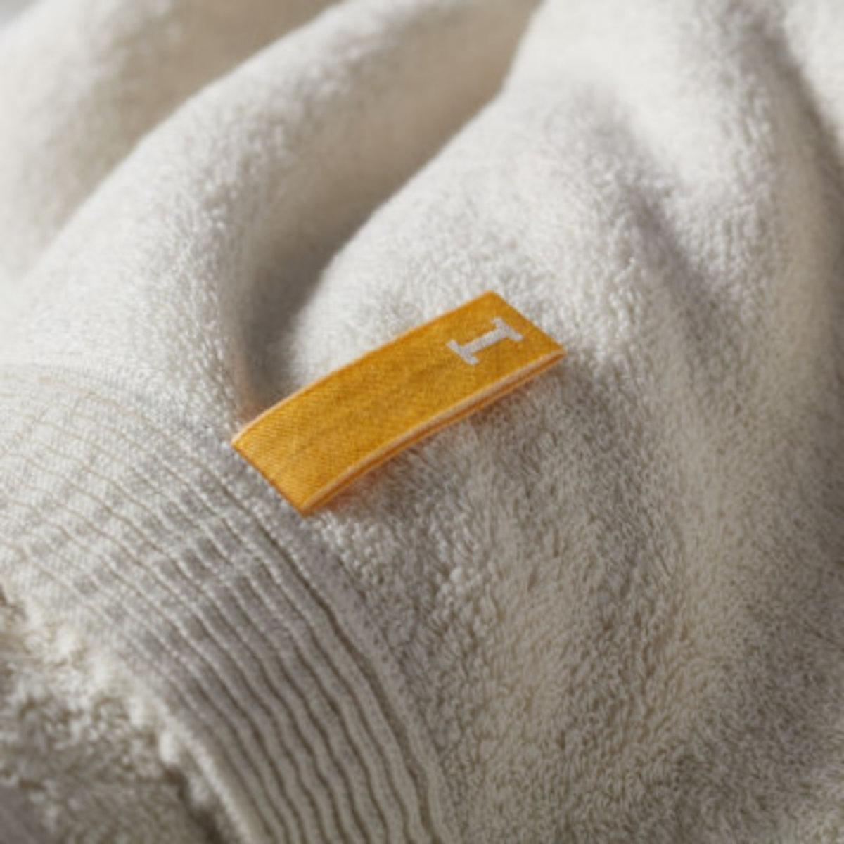 Organic 960 面巾 - Ivory 全日本製有機毛巾 日本今治毛巾認證 日本毛巾