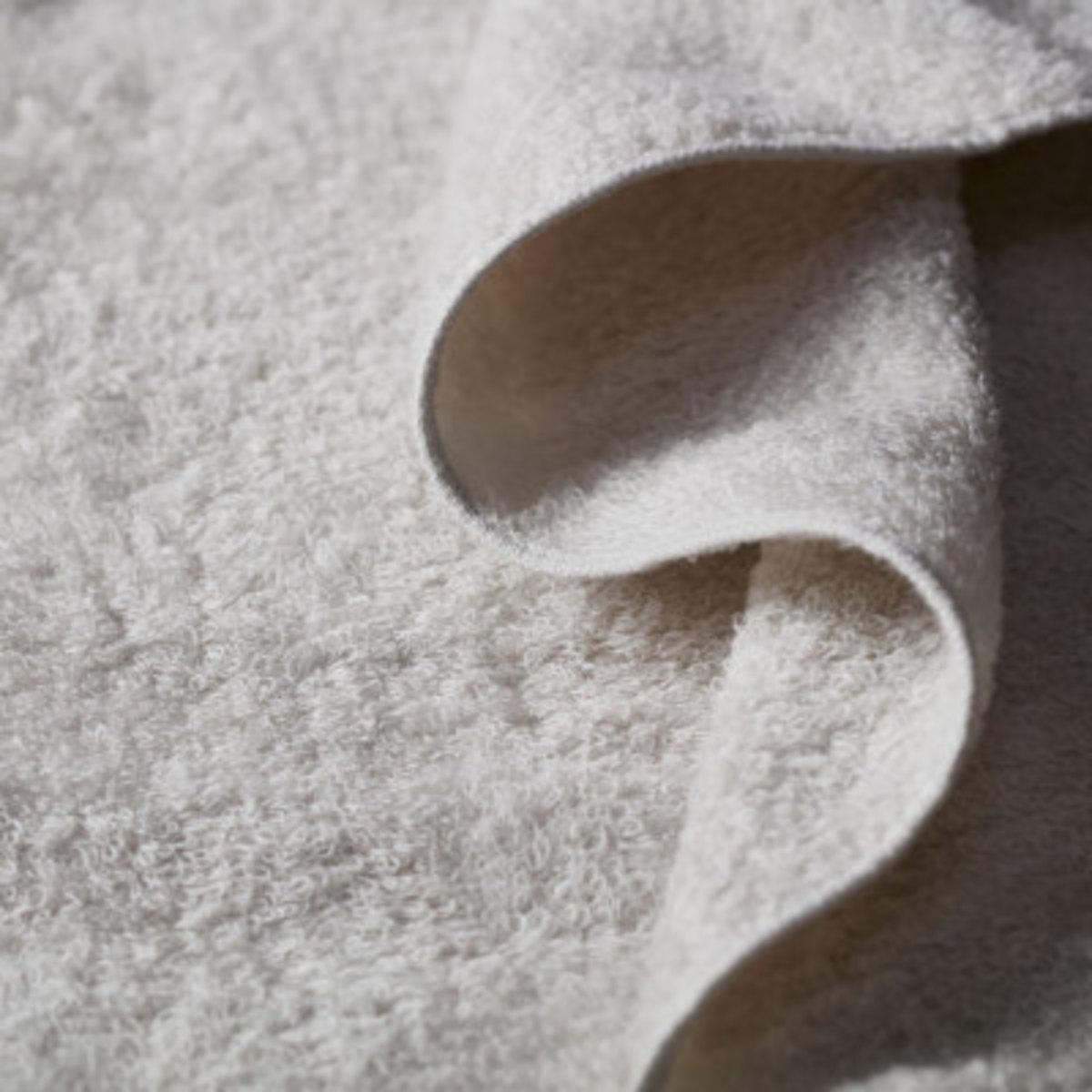 Organic Air Wash Towel - Grey Japanese Organic Towel Imabari Towel Japan Certified