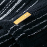 Strait 220 Imabari Towel Japan Bath Towel - Black