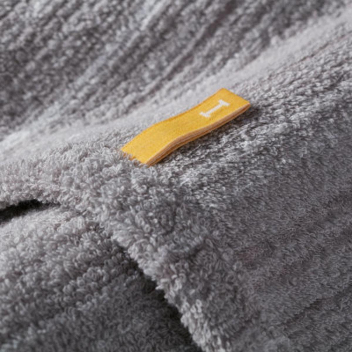 Strait 220 全日本製今治認證有機棉面巾-Light Grey